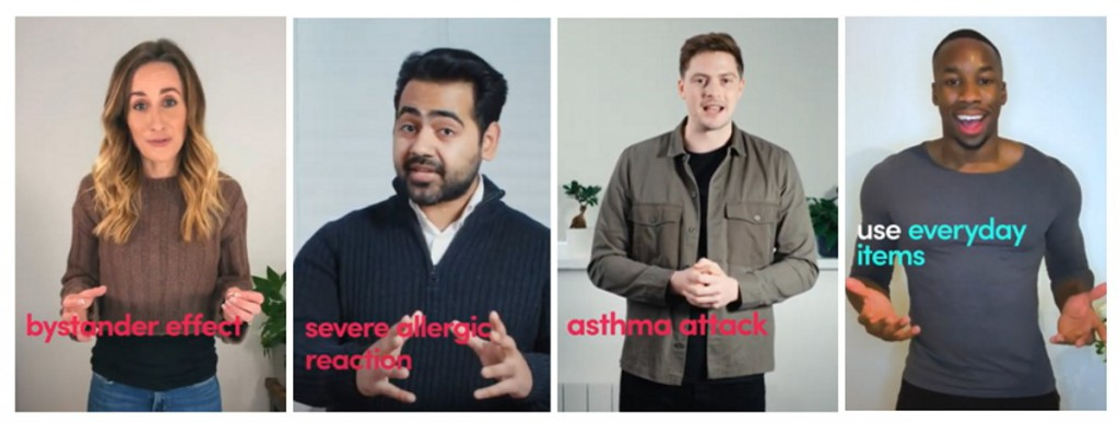British Red Cross's First Aid Toolkit with TikTok