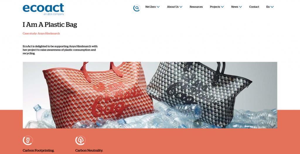Anya Hindmarch – I Am A Plastic Bag