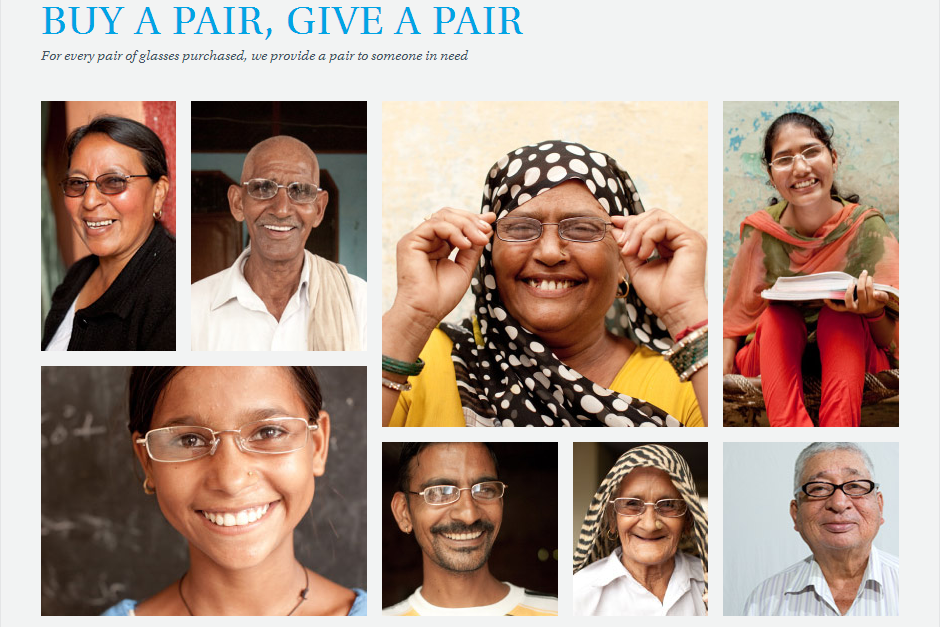 """""""Buy a Pair, Give a Pair"""" Program"""