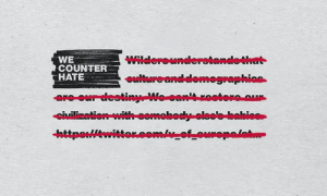 #WeCounterHate official website