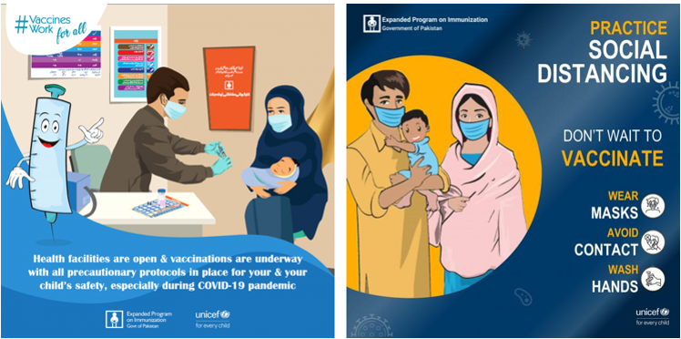 Illustrative images about precautions of vaccinations
