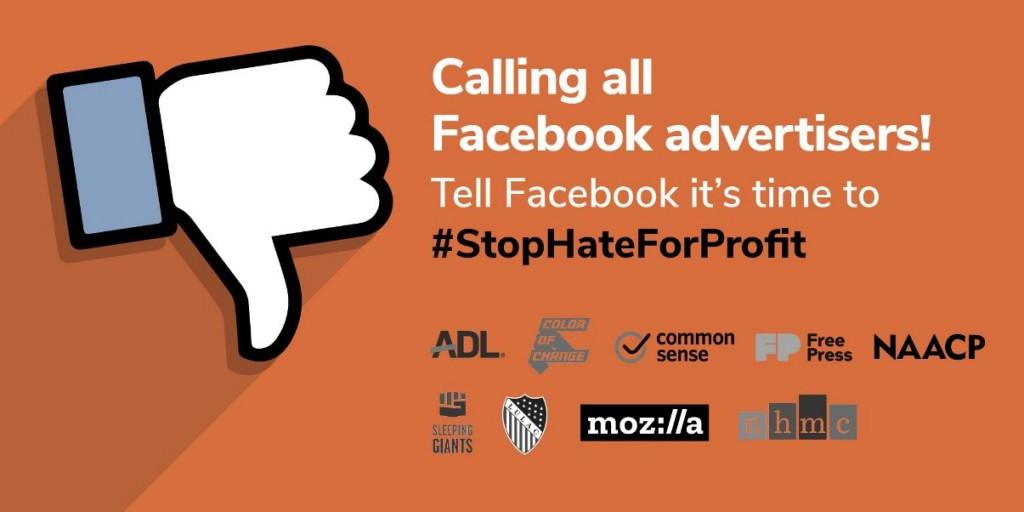 #StopHateforProfit: Facebook Ads Boycott