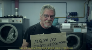 Screencapture of Homeless Fonts Promotion Video