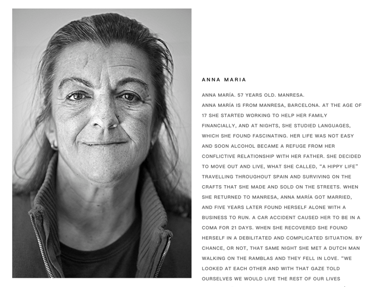 Anne Maria's Personal Story at HomelessFonts.org